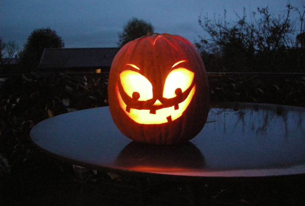 Allehelgensaften – Halloween – ristede græskarkerner
