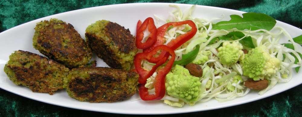Falafler på dansk med dejlig salat