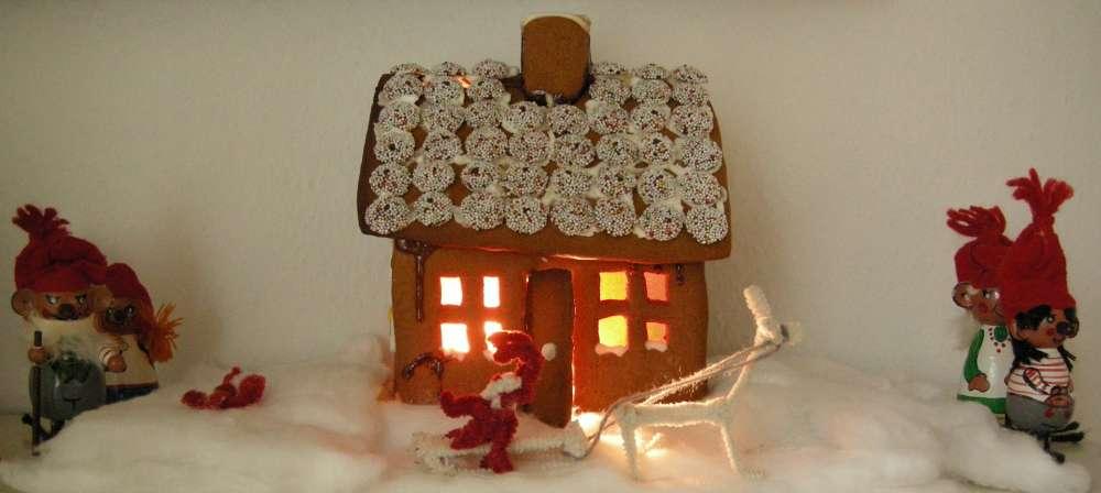 Kagehus dufter så dejligt af jul