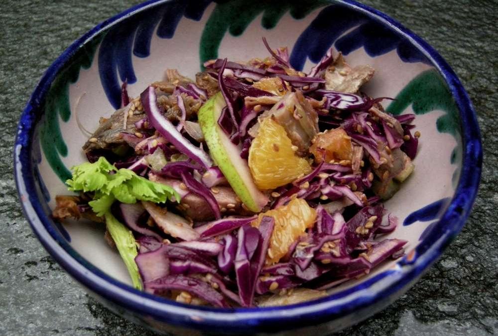 Rødkålsalat med and – dejlig frokostsalat