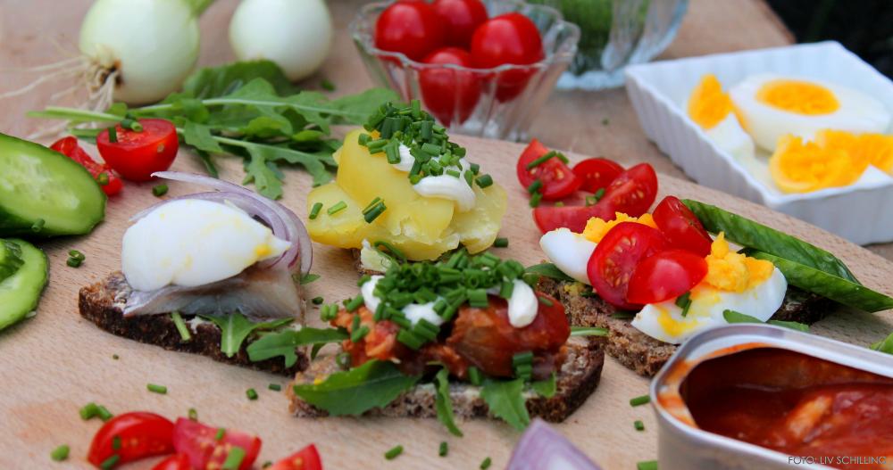 Sommerfrokost – et festfyrværkeri af farver.