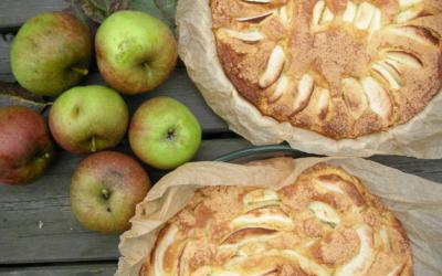 Bagt æblekage